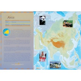 The Continents - Asia poster