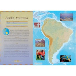 The Continents - South America poster