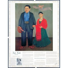 Masterworks of Art - Frida Kahlo - Frida and Diego Rivera