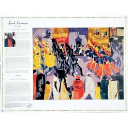Masterworks of Art - Jacob Lawrence - Parade