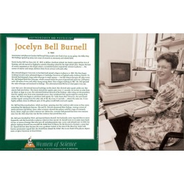 Women of Science - Jocelyn Bell Burnell