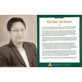 Women of Science - Shirley Jackson