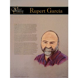 Great Contemporary Latinos - Rupert Garcia poster