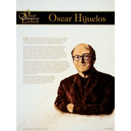 Great Contemporary Latinos - Oscar Hijuelos poster