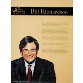 Great Contemporary Latinos - Bill Richardson poster
