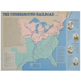 The Underground Railroad Map