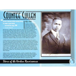 Stars of the Harlem Renaissance - Countee Cullen