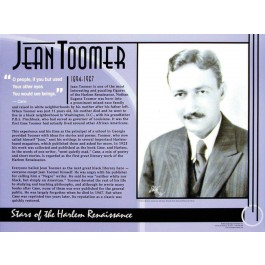 Stars of the Harlem Renaissance - Jean Toomer