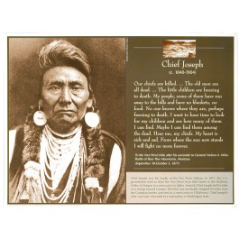 Great Native American Leaders - Chief Joseph