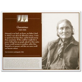 Great Native American Leaders - Geronimo