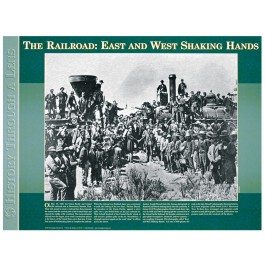 History Through A Lens - The Railroad: East and West Shaking Hands