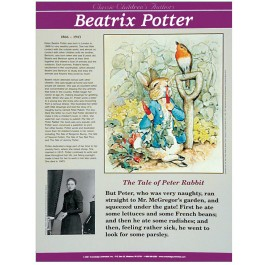 Beatrix Potter - Classic Children's Authors poster