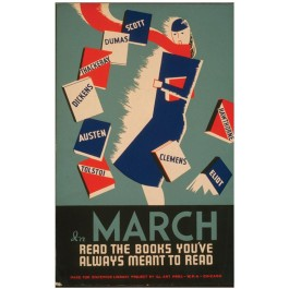 Historic Reading Posters - In March..