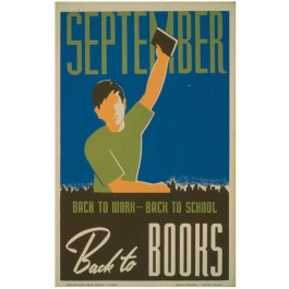 Historic Reading Posters - September - Back to Work..
