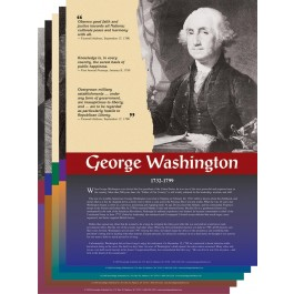 The Founding Fathers - poster set
