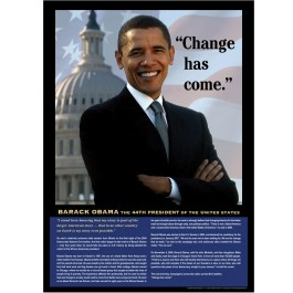 Change Has Come - Barack Obama Poster