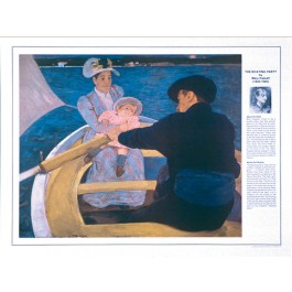 Mary Cassatt- The Boating Party