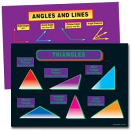 Geometry - Bulletin Board Set