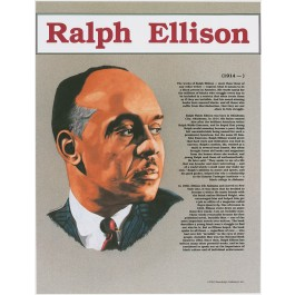 Ralph Ellison - Great Black Americans poster