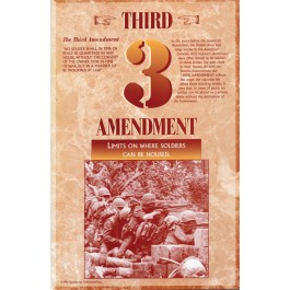 The Bill of Rights - Third Amendment