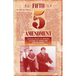 The Bill of Rights - Fifth Amendment