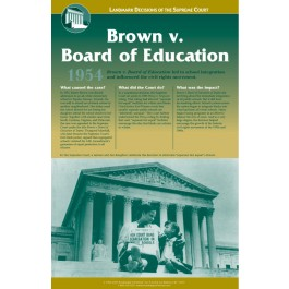 Landmark Decisions of the Supreme Court - Brown v. Board of Education, Topeka KS