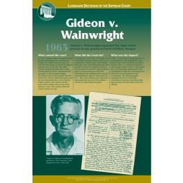 Landmark Decisions of the Supreme Court - Gideon v. Wainright