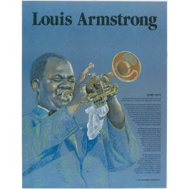 Louis Armstrong - Great Black Americans poster