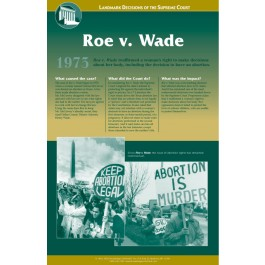 Landmark Decisions of the Supreme Court - Roe v. Wade