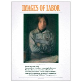 "Images of Labor - Carl Sandburg ""Mills Doors"" poster"
