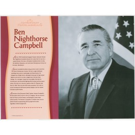 Contemporary Native Americans - Ben Nighthorse Campbell