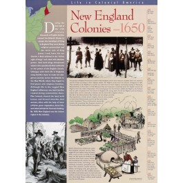Colonial America - New England Colonies