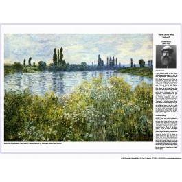 The Impressionists - Monet - Banks of the Seine, Vetheuil