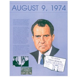 Nixon's resignation - Ten Days that Shook the Nation poster