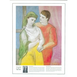 Pablo Picasso--The Lovers