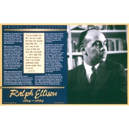 Ralph Ellison - Voices of Diversity poster