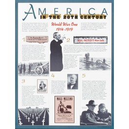 World War I (1914-1919) - America in the 20th Century poster
