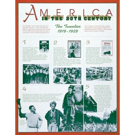 The Twenties (1919-1929) - America in the 20th Century poster