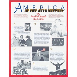 The Troubled Decade (1963-1974) - America in the 20th Century poster