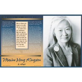 Maxine Hong Kingston - Voices of Diversity poster