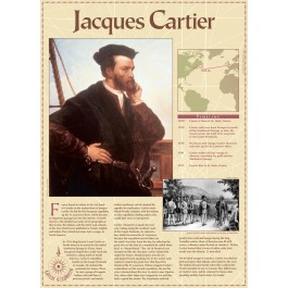 Jacques Cartier -Great Explorers - poster
