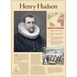 Henry Hudson - Great Explorers poster