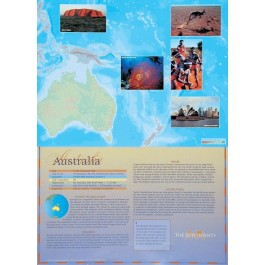 The Continents - Australia poster