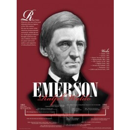 Ralph Waldo Emerson - 19th Century Author poster