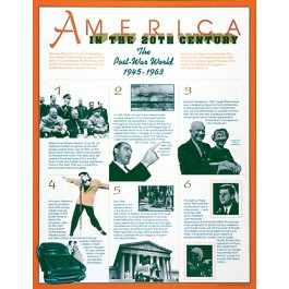 The Postwar World (1945-1963 - ) America in the 20th Century - poster (
