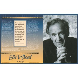 Elie Wiesel - Voices of Diversity poster