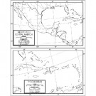 Central America Outline Map 50 Pack