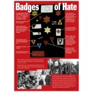 Badges of Hate- Holocaust History Poster