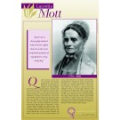 Women's Rights Pioneers - Lucretia Mott poster