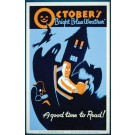 Historic Reading Posters - October's Bright Blue Weather..